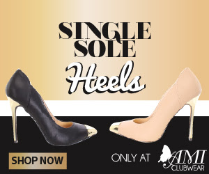 Shop AMIclubwear.com for great deals on fashionable Single-Sole Heels.