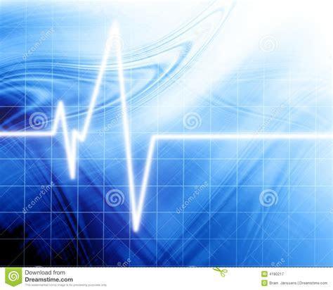 Heart Beat On Clinic Monitor Royalty Free Stock