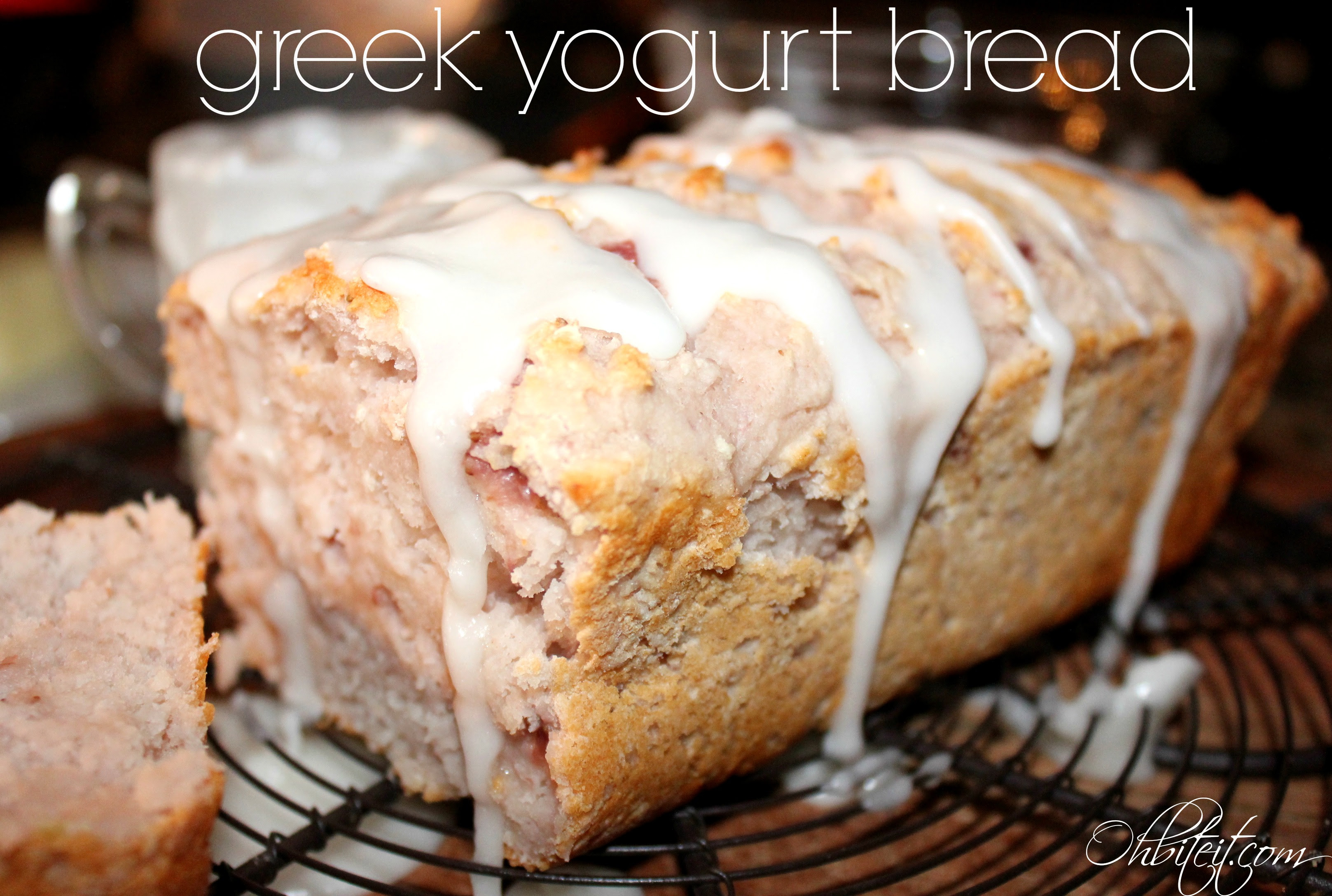 ~Greek Yogurt Bread! {2 ingredients} | Oh Bite It