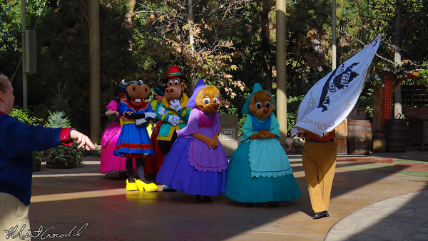 Disneyland Resort, Disneyland, Frontierland, Big Thunder Ranch, Frontierland Troupe, Disney, Characters