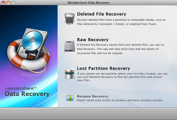 Wondershare Data recovery Aplikasi Data Recovery Terbaik di Mac OS