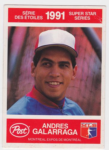 Exp - Andres Galarraga -Front