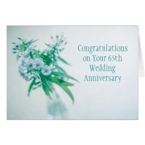 65th Wedding Anniversary Cards, Photocards, Invitations & More