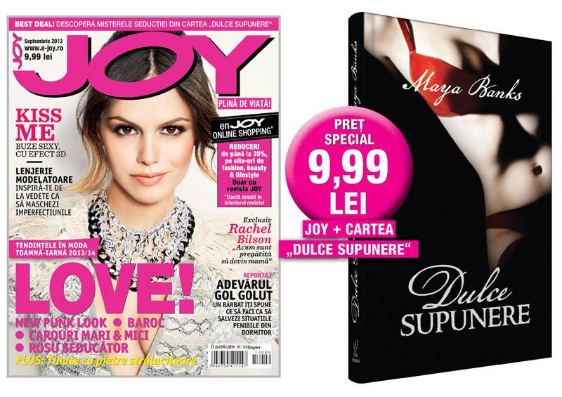 Promo pentru revista JOY Romania, Septembrie 2013