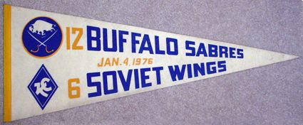 Sabres Wings pennant