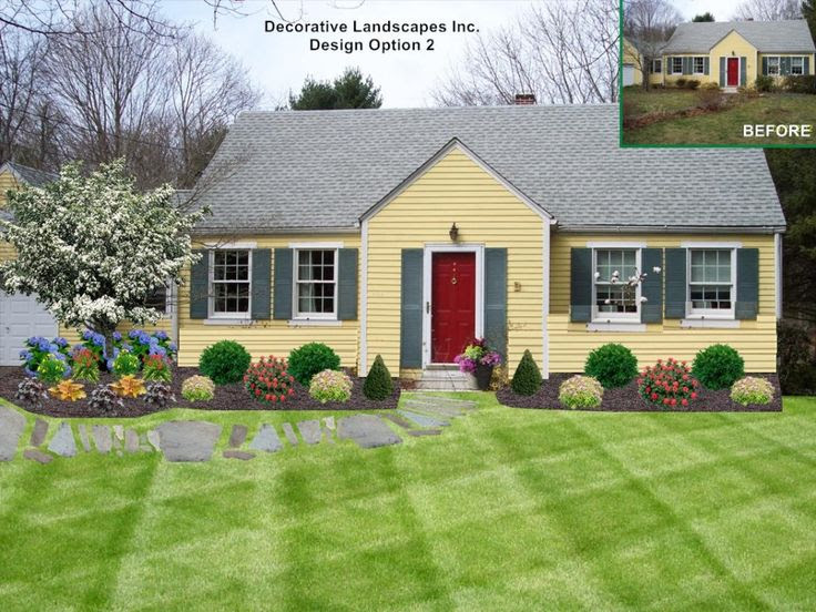 Ranch Home Front Yard Landscaping Ideas