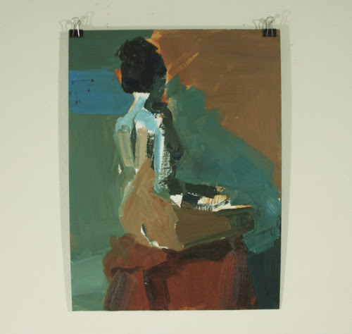 25 minute painting study oil 2012