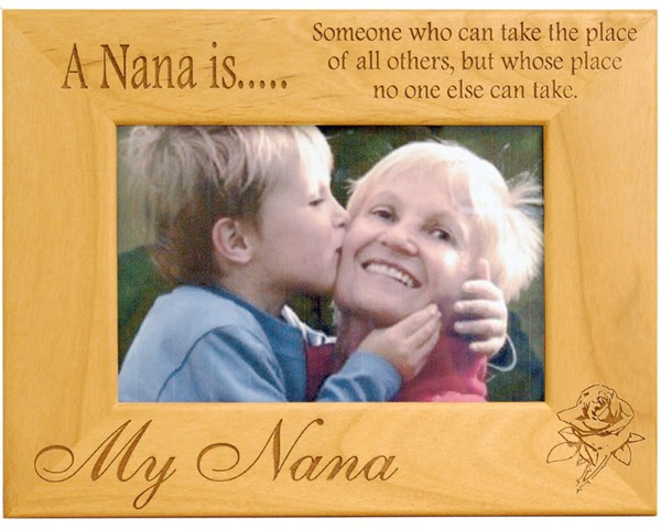 A Nana Is Grandmother Frame Name Picture Frames