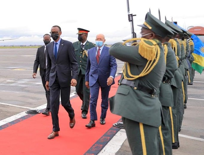 Perezida wa Repubulika y'u Rwanda, Paul Kagame, ari i Luanda muri Angola, aho yitabiriye inama ihuza Abakuru b'Ibihugu bigize Umuryango Mpuzamahanga wita ku Mahoro n'Umutekano mu karere k'Ibiyaga Bigari. #rwanda #RwOT