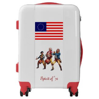 """Spirit of '76"" Luggage"