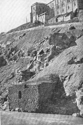 Estribo este del acueducto romano de Toledo en el siglo XIX