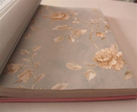 jual beli wallpaper bunga mawar emas coklat gold