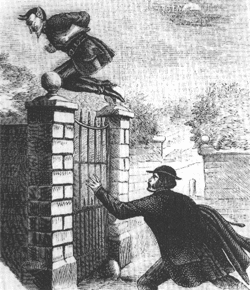 Spring-heel'd Jack - The Terror of London, 1867