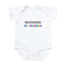 Mechanic In Training Infant Bodysuit for