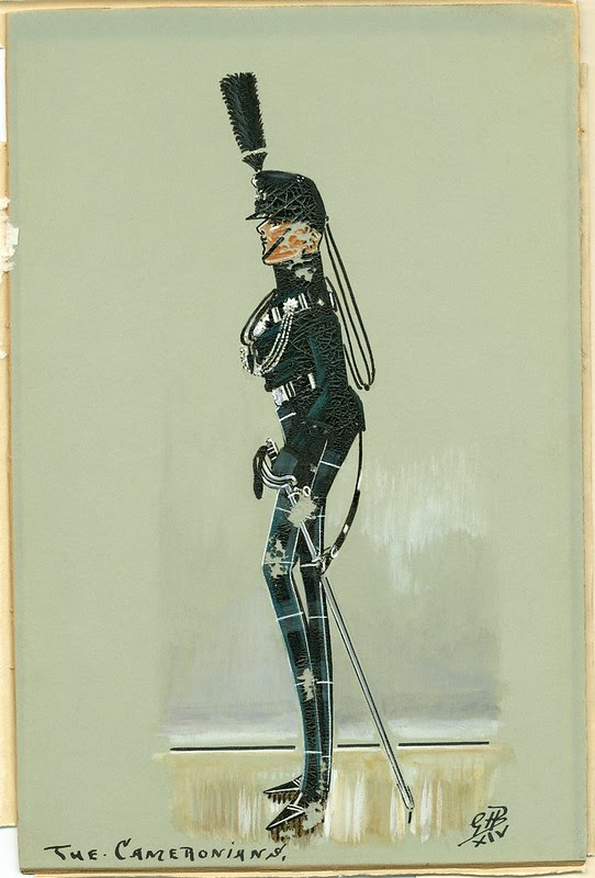 Scottish soldier - comical appearance