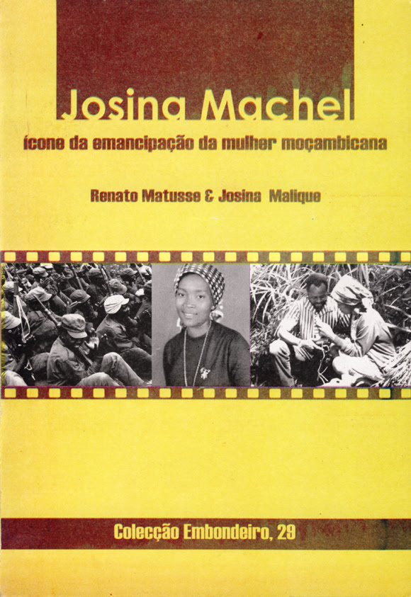 Capa do livro sobre Josina Machel