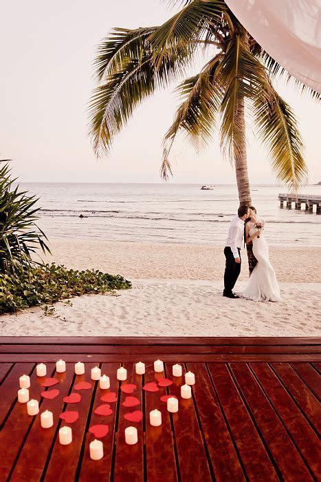 fashion flowers beach wedding rose Romantic candles san