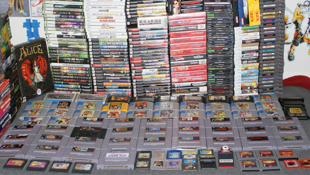 A evolução dos cartuchos de videogame (Foto: Divulgação)
