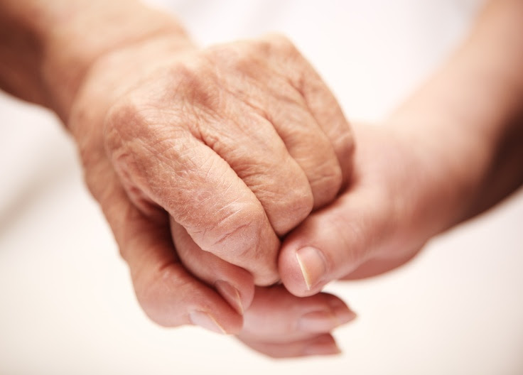 A helping hand! Mamaw Used To Reach For My Right Hand When We Were Out Together To Help Her....I Miss You So Much Mamaw !!!