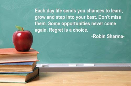 Each Day Life Sends You Chances To Learn Grow And Step Into Your
