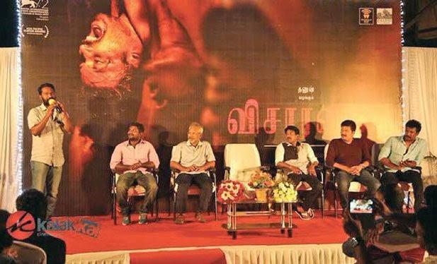Top directors gathered to felicitate Vetrimaaran for 'Visaranai'