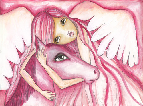 the angel and the horse
