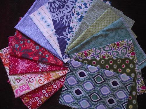 Modern Christmas Tablerunner Fabric Auditions