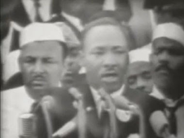 Screengrab from video of 'I Have a Dream' speech.