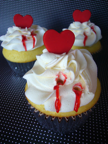 Twlight inspired cupcakes