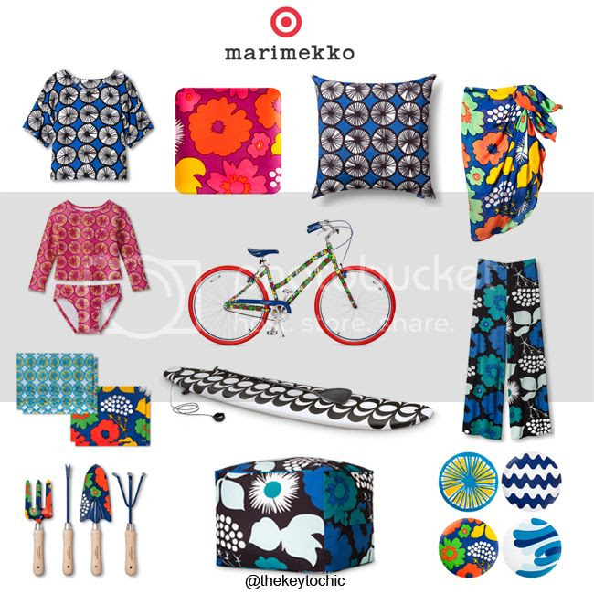 Marimekko for Target lookbook and outfit ideas