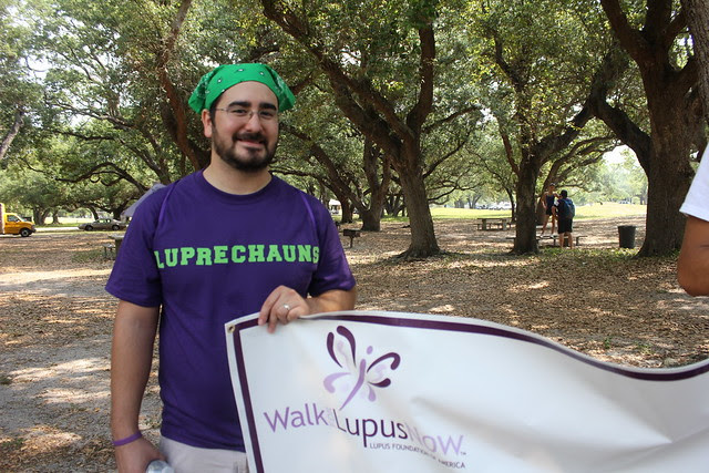 Walking for Lupus