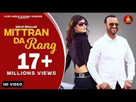 New Punjabi Songs 2020    Surjit Bhullar    Colour Black ( Mitran Da Rang )    Happs Music