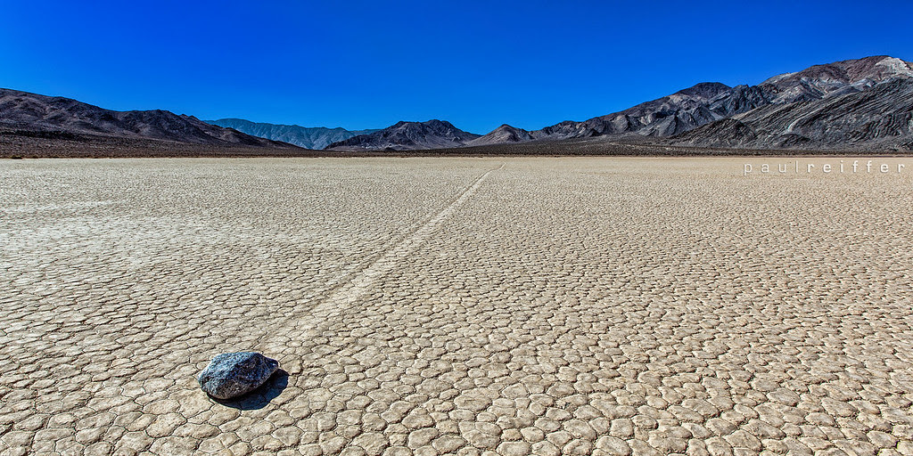 Racetrack Playa - Death Valley