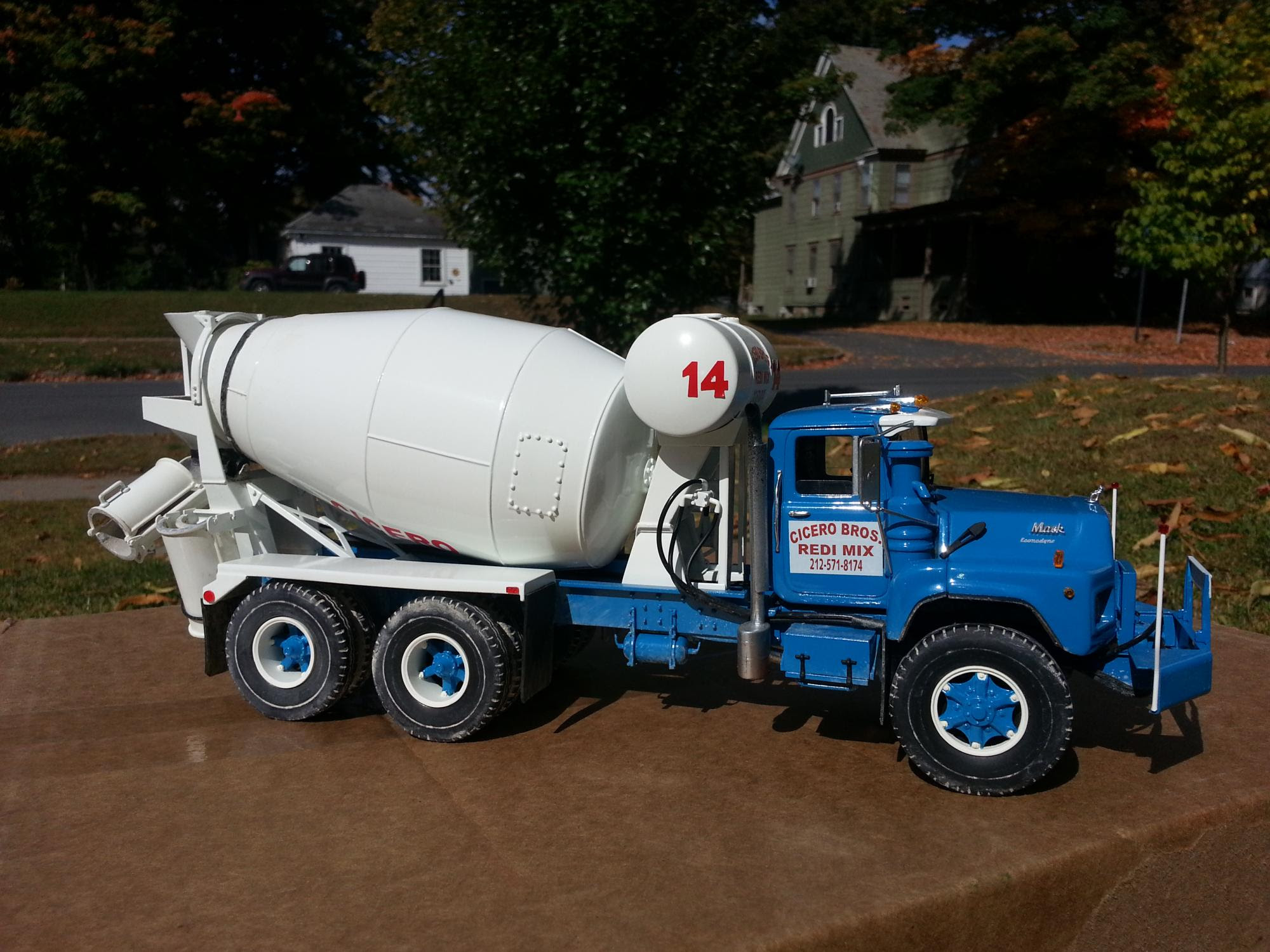 Gw Trucks Mack Dm690 Conversion Welcome Introduce Yourself Model Cars Magazine Forum