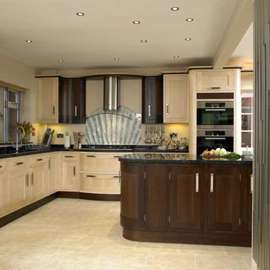 Two-tone kitchen | Kitchen design | Decorating ideas ...