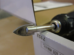 glass and tile drill bit