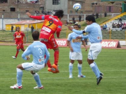 SPORT HUANCAYO 1 - SPORTING CRISTAL 1