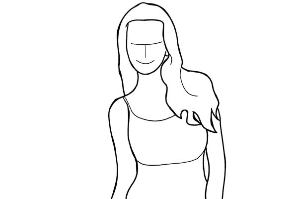 Позирование: позы для женского портрета 2-2