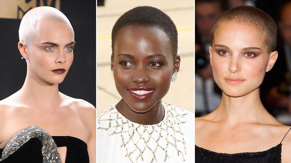 11 Berühmte Frauen Die Auch Mit Glatze Großartig Aussehen Mtv Germany