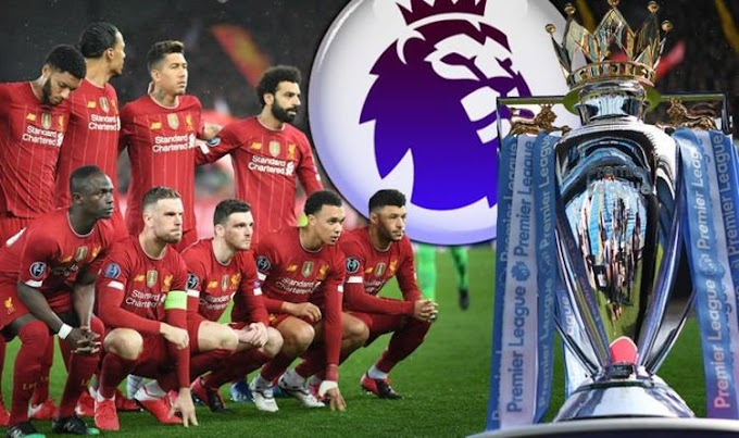 UK government give Premier League the green light to restart the season from June 1 behind closed doors