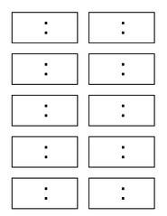 Blank digital clock face template – cbrx
