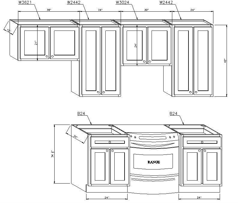 Standard Sizes Modular Kitchen Cabinets Best Home