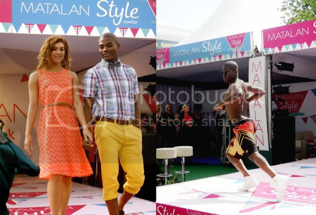 BB dirty sexy things, matalan style show, aintree ladies day 2012