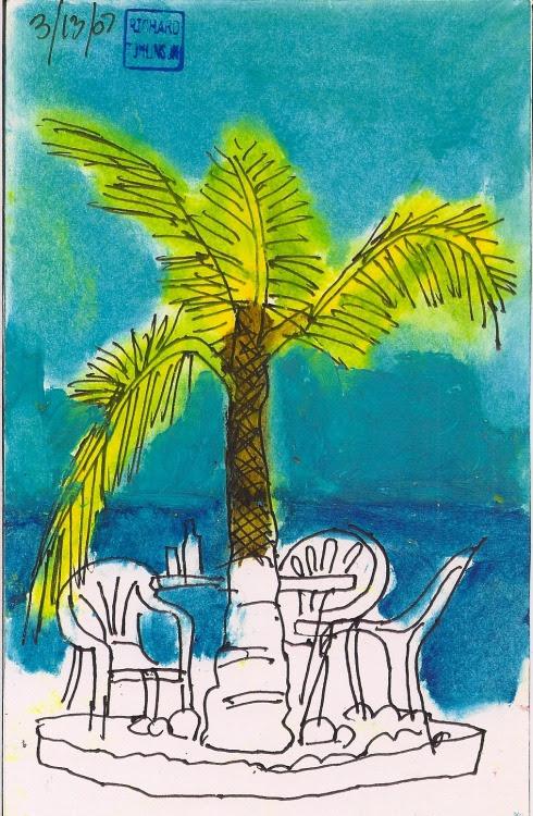 By the pool Ixtapa