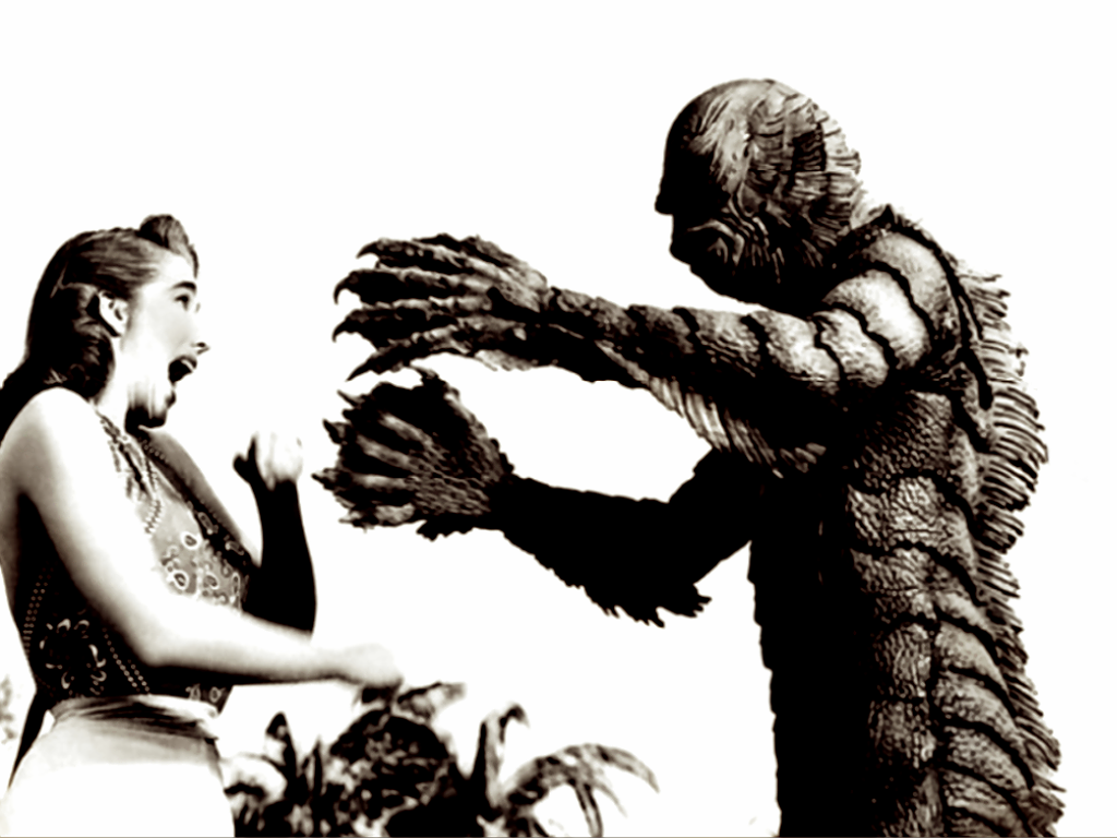 1024x768 Creature From The Black Lagoon Desktop Pc And Mac Wallpaper