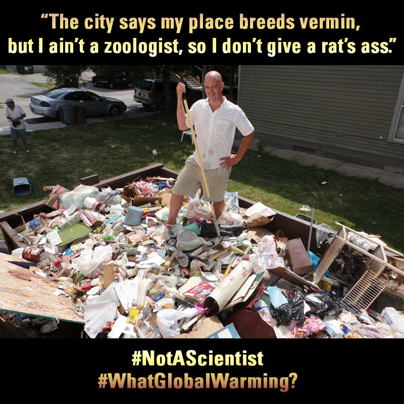 not a scientist - vermin