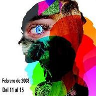 Cartel de la Pasarela Cibeles Semana Internacional de la Moda Madrid 2008