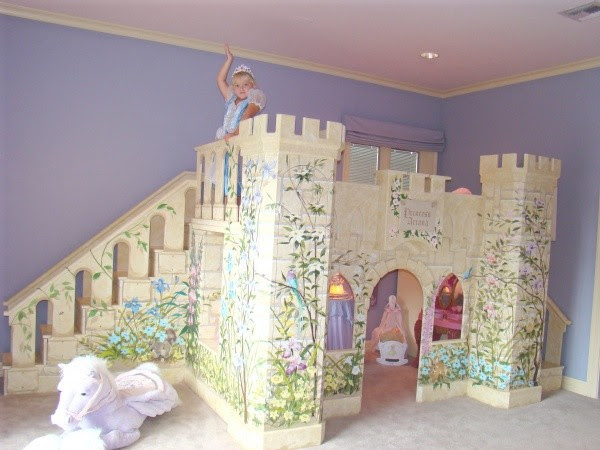 Girls Princess Castle Bed - Beds - new york - by SweetDreamBed.