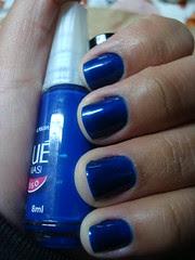 Azul hortência + Bleu jean