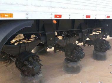 Barreiras: Caminhoneiro é amarrado em assalto e grupo rouba 23 pneus de carreta